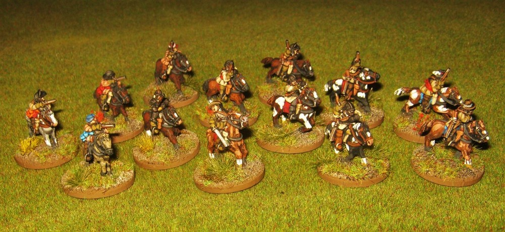 15mm Cavalry Markers from Kev