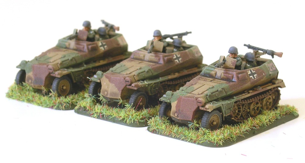 1½ squads-worth of half-tracks!