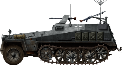 This is one version of the SdKfz 250/5