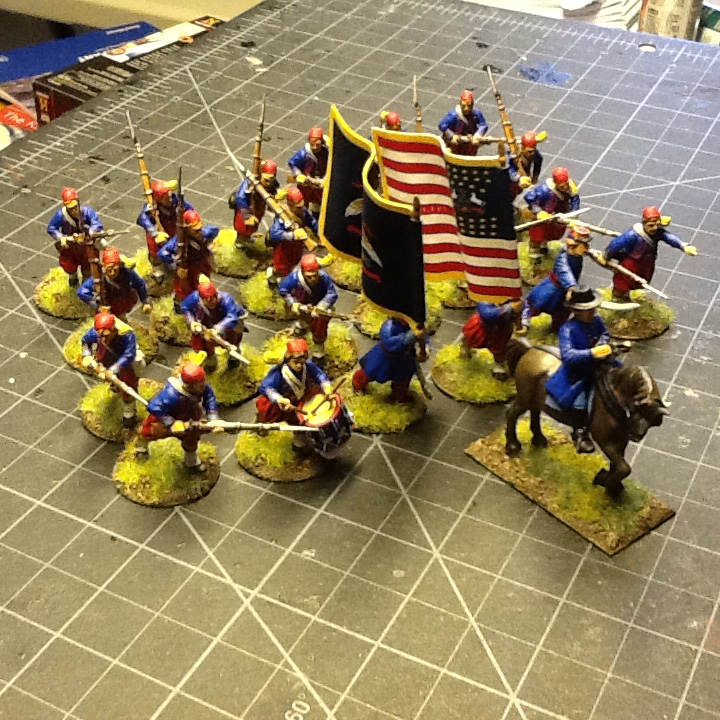 Zouaves from Lloyd Bowler