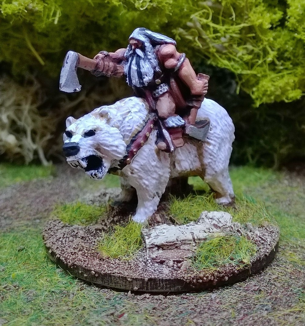 Matt Slade's 15mm Barbarian Hero