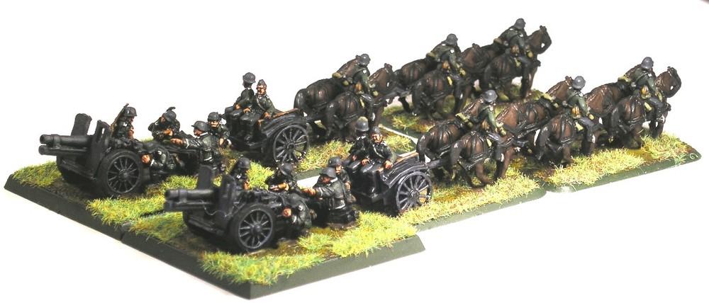 heavy infantry gun platoon