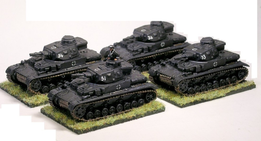 2nd (panzer IV) Platoon [missing 1 x pz iv]