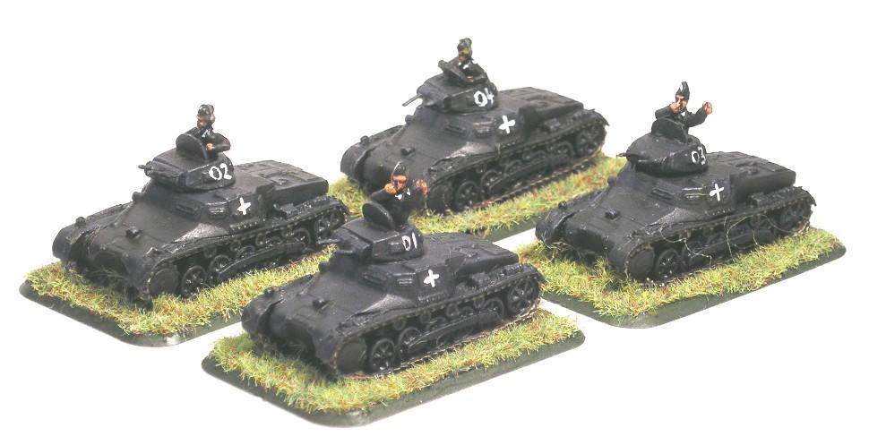 1st (Panzer I) platoon [understrength]
