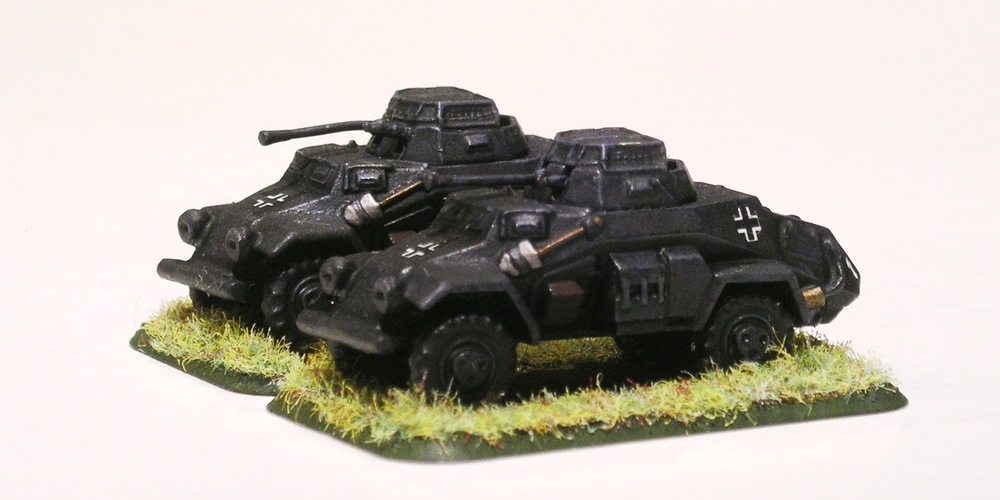 light armoured car platoon (sdkfz 221/222)[understrength]