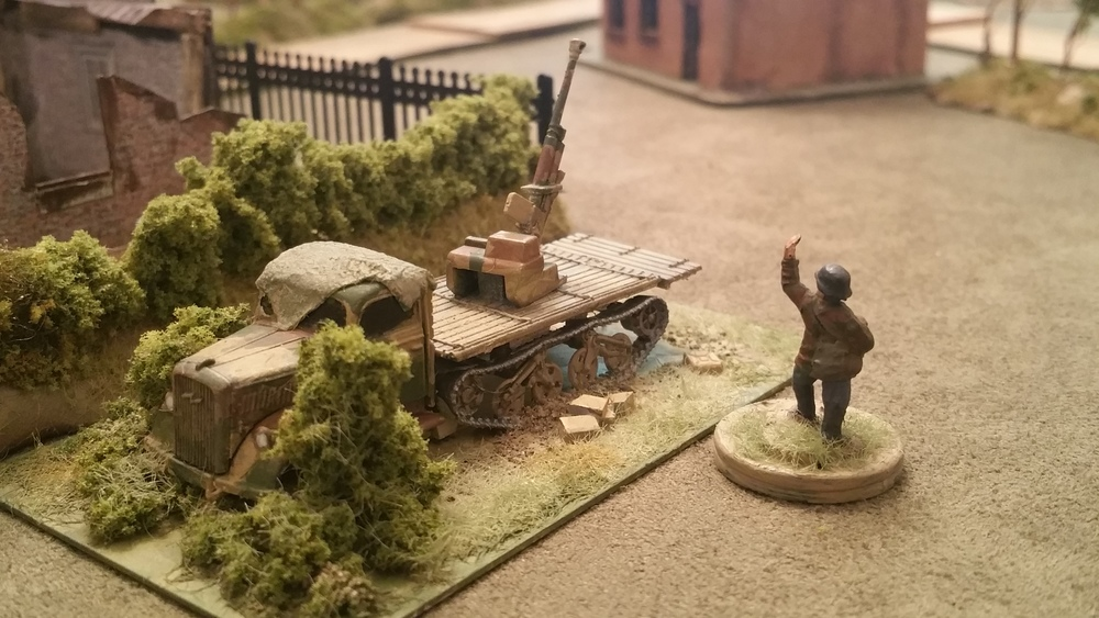 Luftwaffe Flak Takes Back the Town