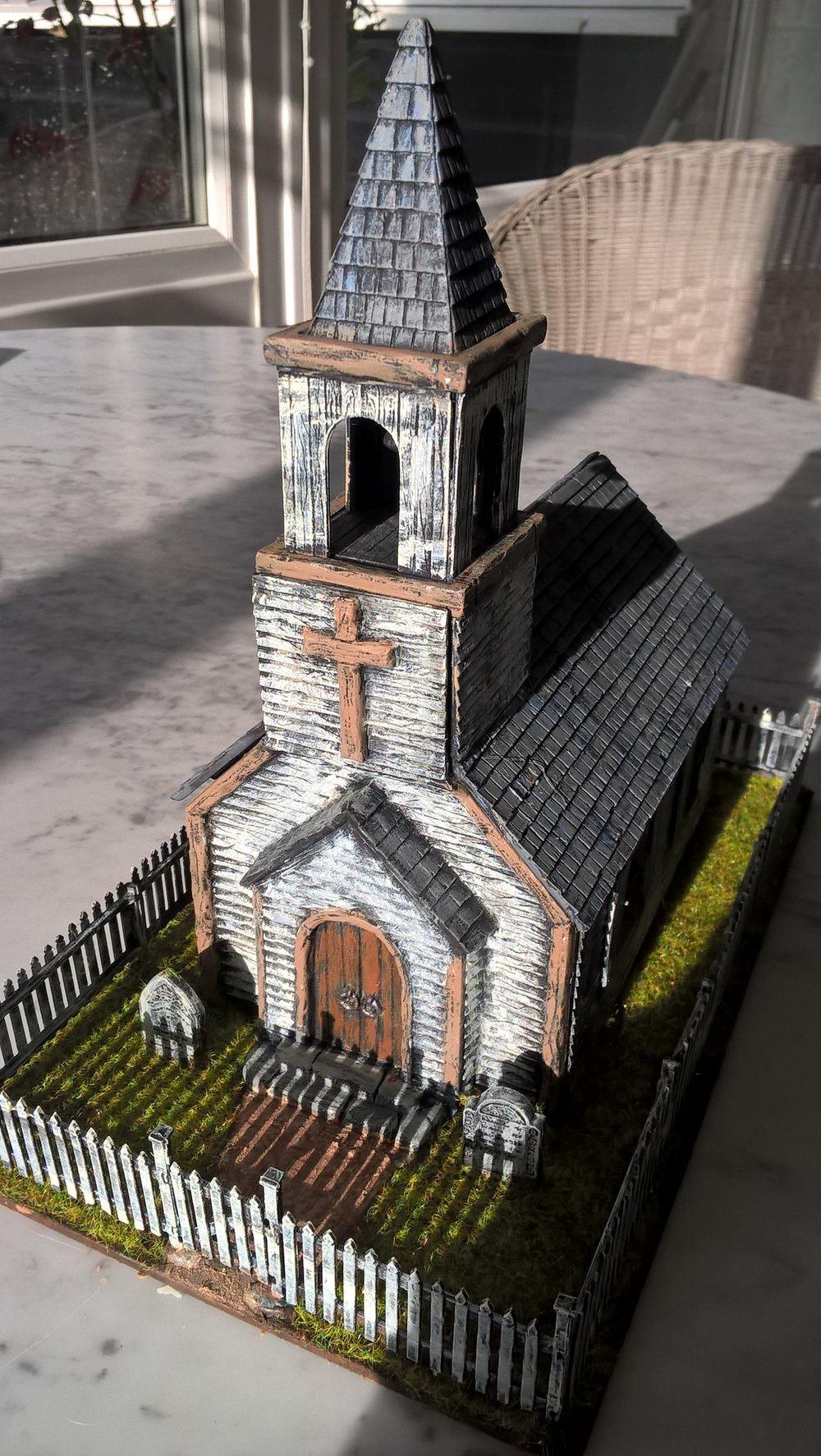 Steve's 28mm church