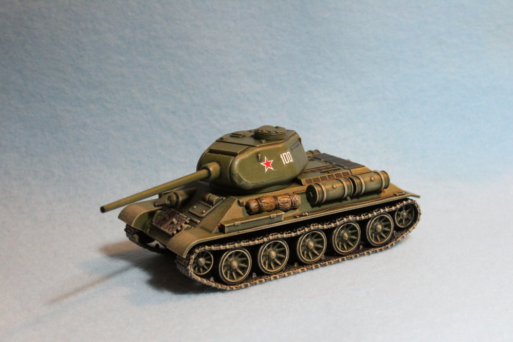 Fantastic PSC 20mm T-34/85 from Mr Naylor