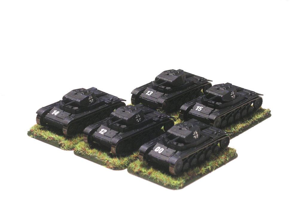 1st (panzer II) platoon