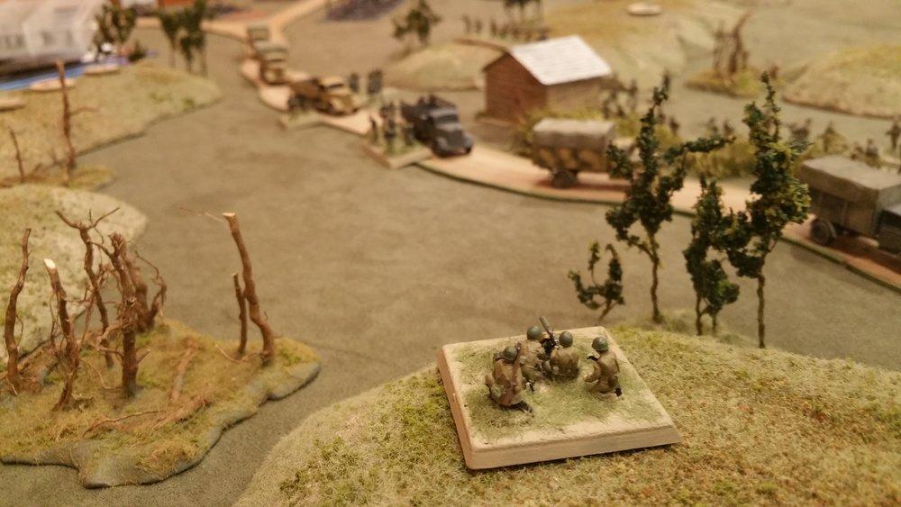MMG rakes the convoy