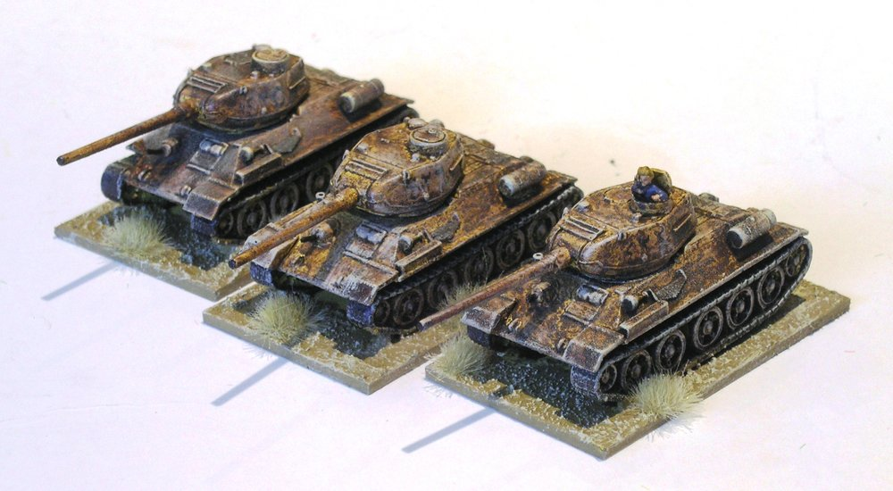 infantry support: t-34/85 platoon