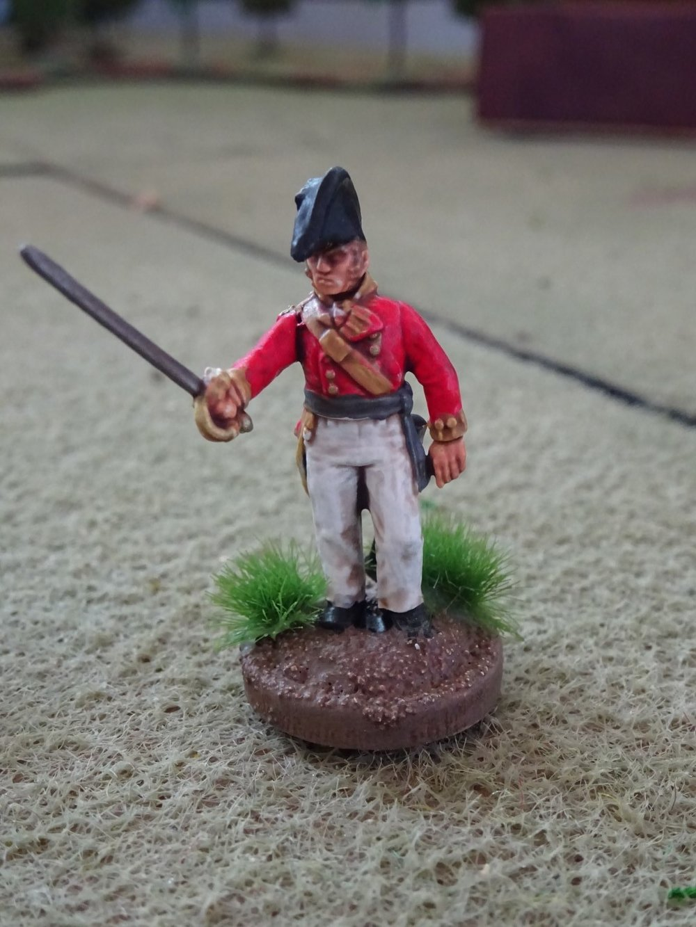 British Napoleonic officer from Treadhead, and a British Para Jeep from Koen