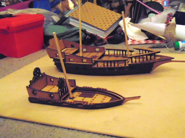 Galleons from Owen