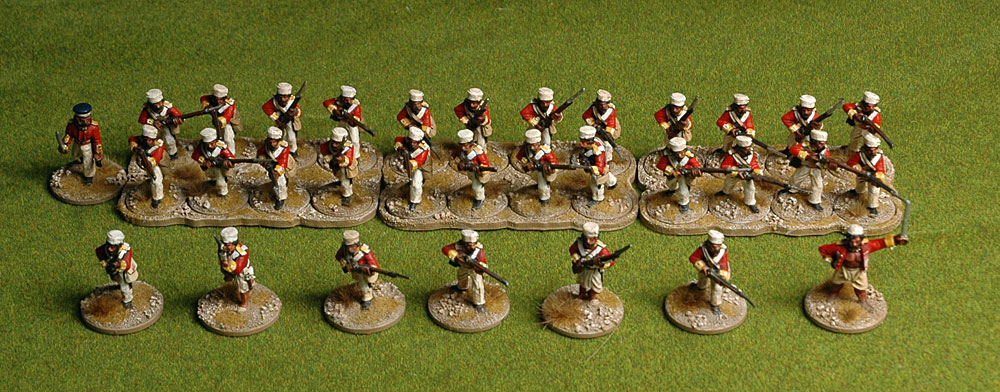 Mr Hodge's 28mm Mutineers