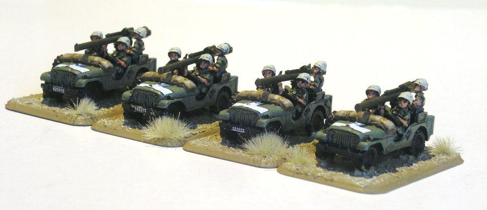 mobile anti-tank platoon