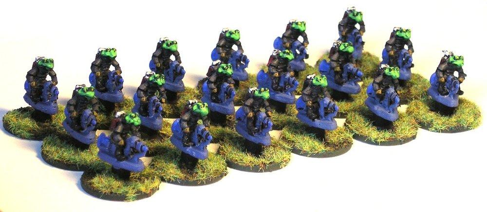 Cavalry Platoon (Grav Bikes)