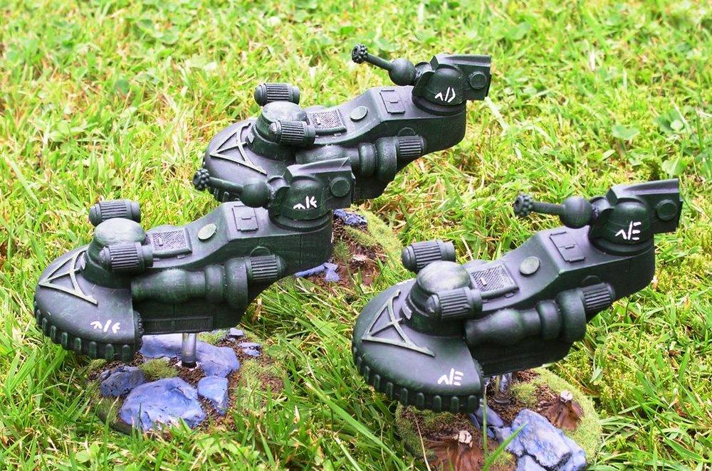 Flycatcher Tank Platoon 2