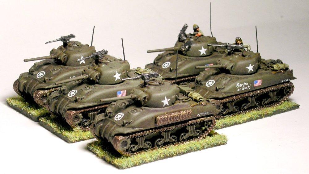 Medium Tank Platoon