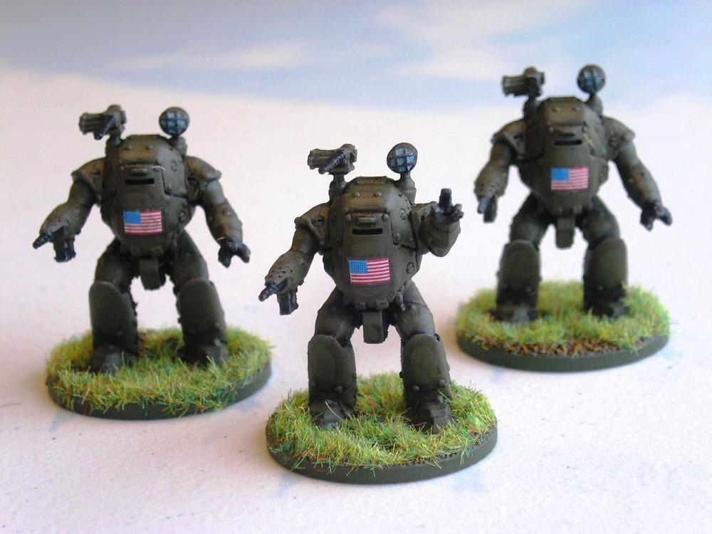 Coyote Light Walker Squad