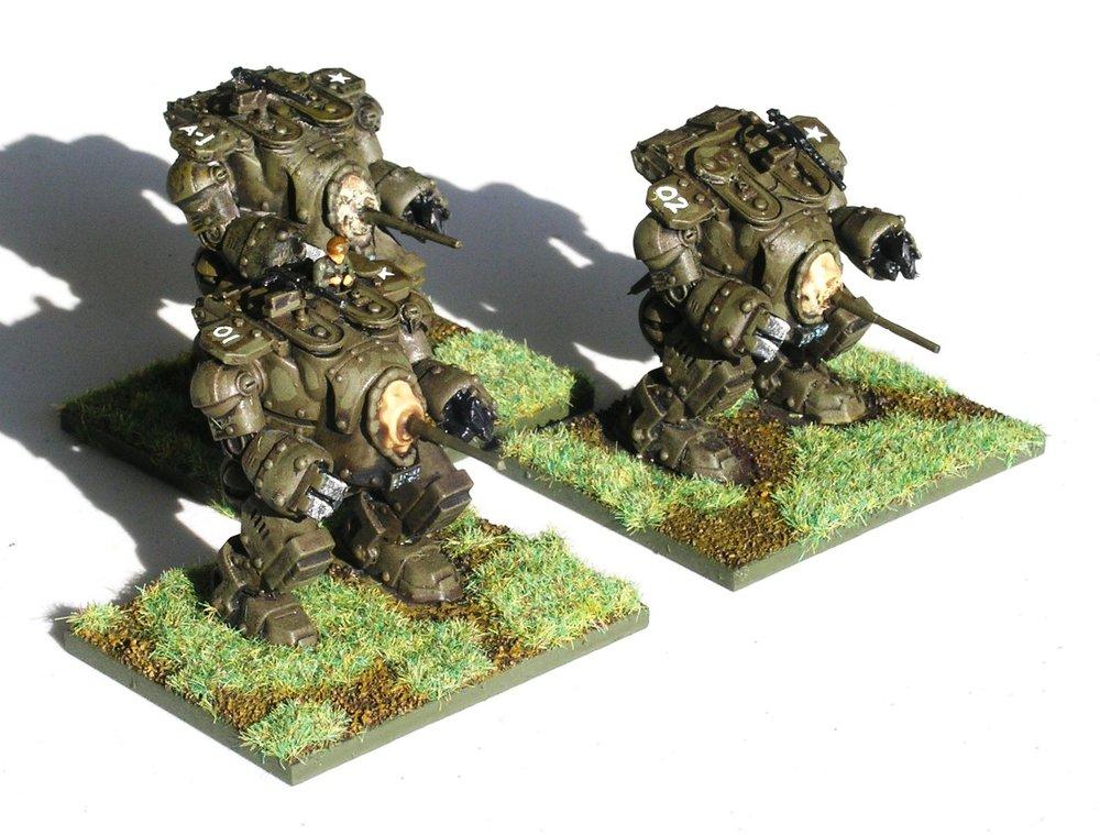Grizzly Medium Walker Squad