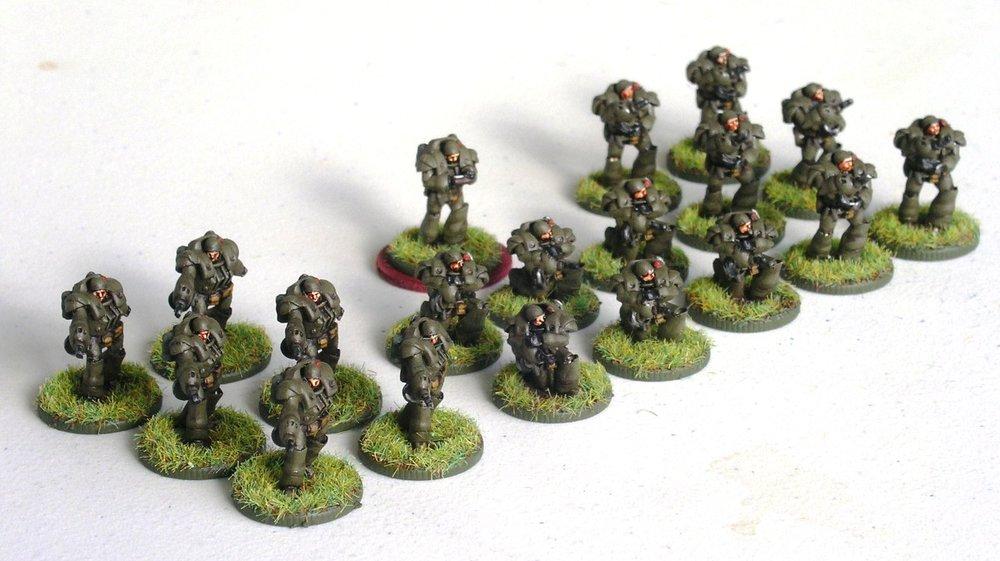 1st (Heavy Infantry) Platoon