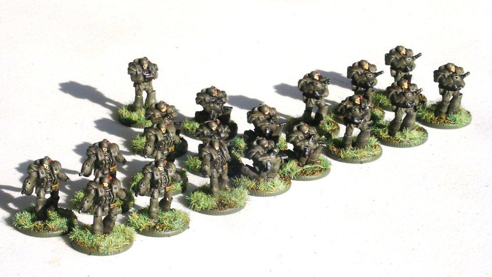 2nd (Heavy Infantry) Platoon