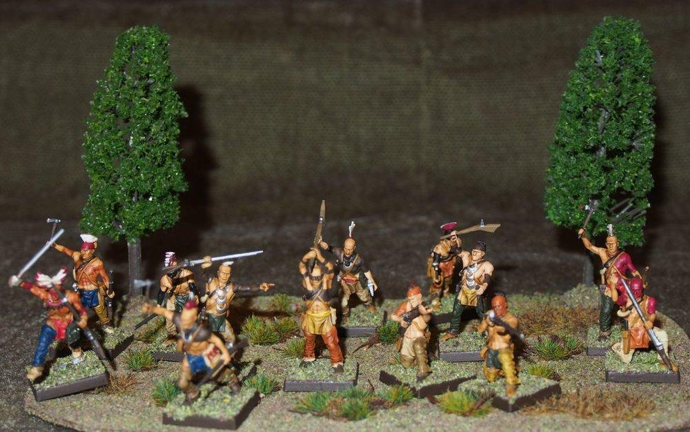 John Haines' Woodland Indians