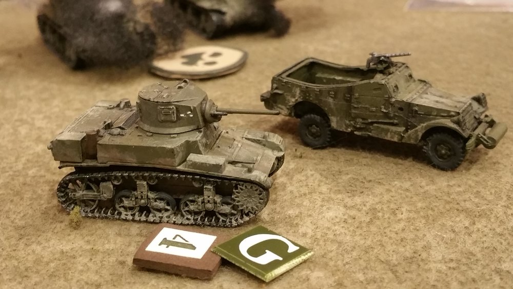 Battered US Cavalry Platoon