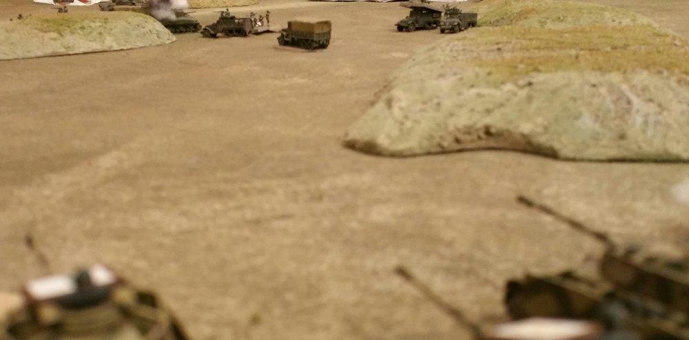 Retreating US Troops Run the Gauntlet