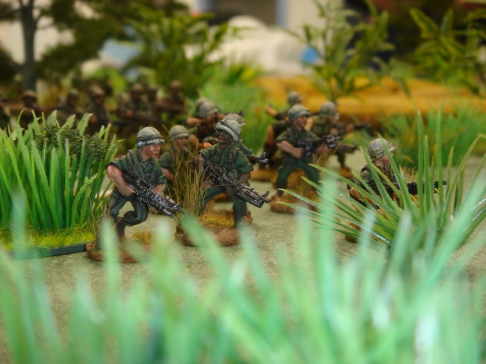 Not this game, but one of Benito's: US Infantry in the field