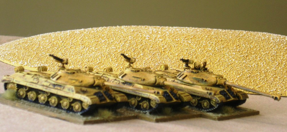 INFANTRY SUPPORT: IS-3M MBT PLATOON