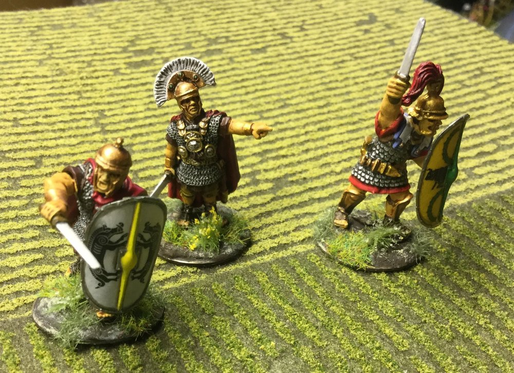 Some Romans from Lloyd Bowler