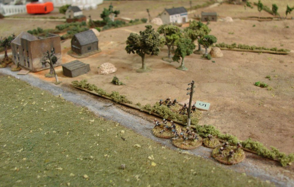 Germans moving back towards Geel