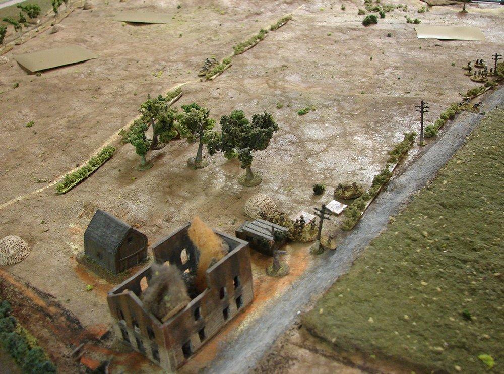 DLI forcing the Luftwaffe troops back towards Geel
