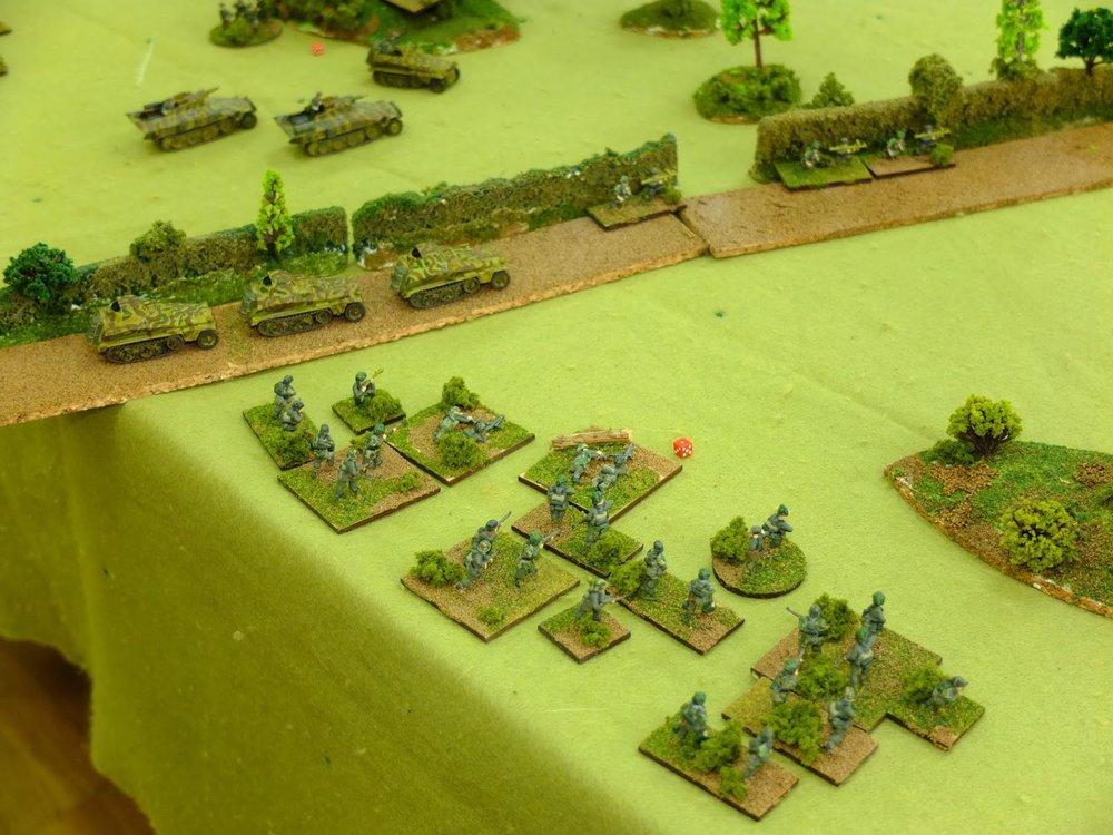More German troops arrive