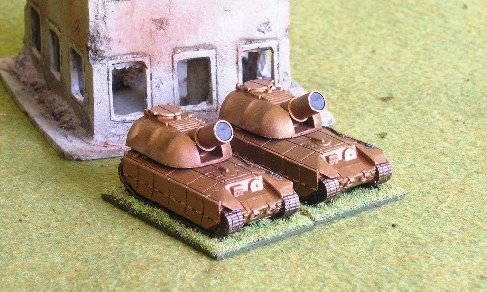 Squad: SP SuperHeavy Artillery