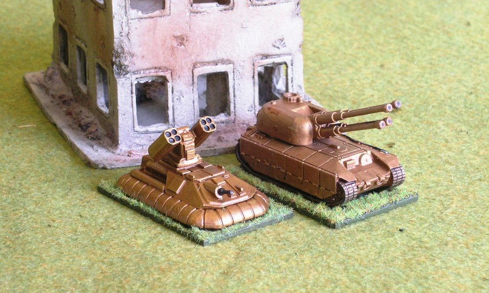 Squad: SP Heavy/SuperHeavy AA Artillery