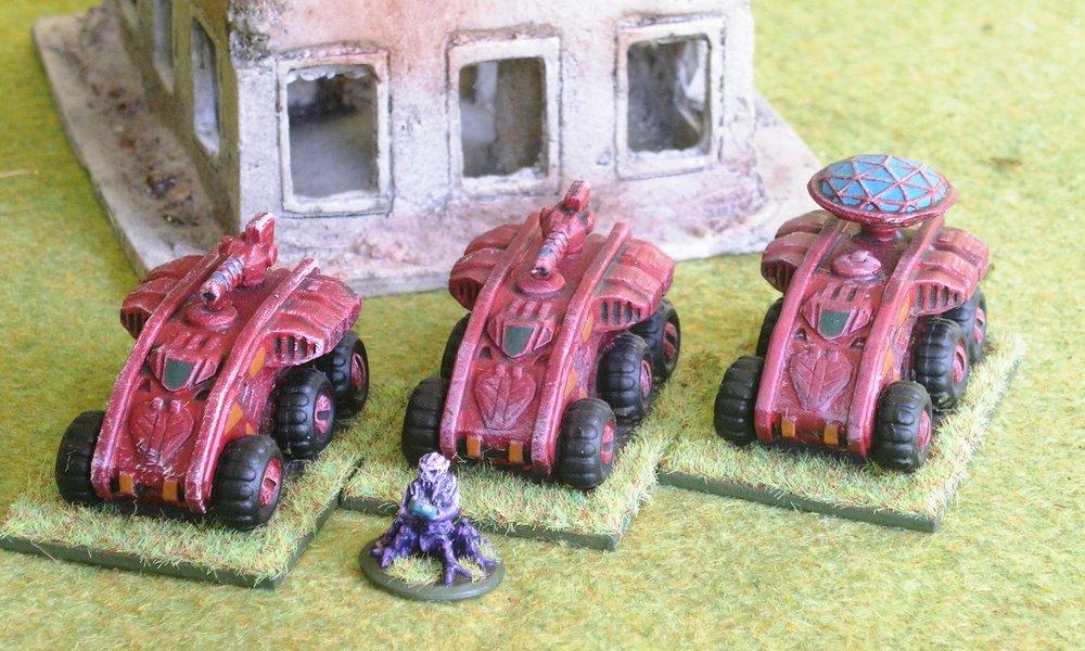 Platoon:  Gekotaa Armoured Cars