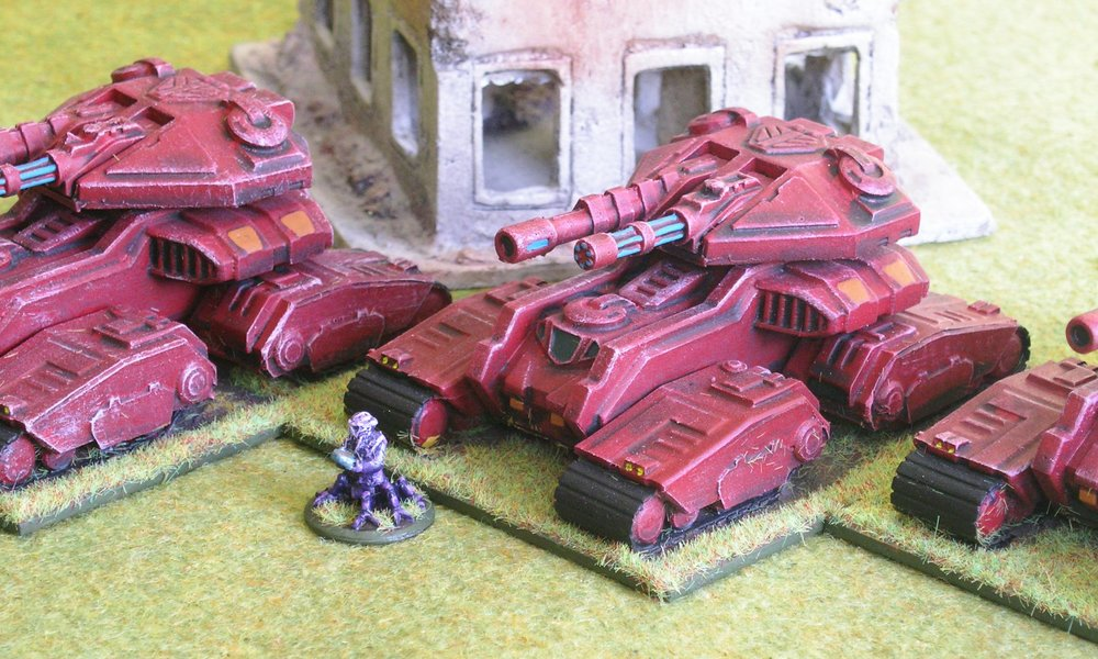Platoon: Dragamaa Heavy Tanks
