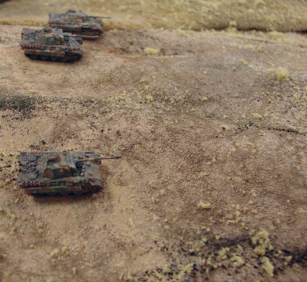 GHQ Panzer V D models