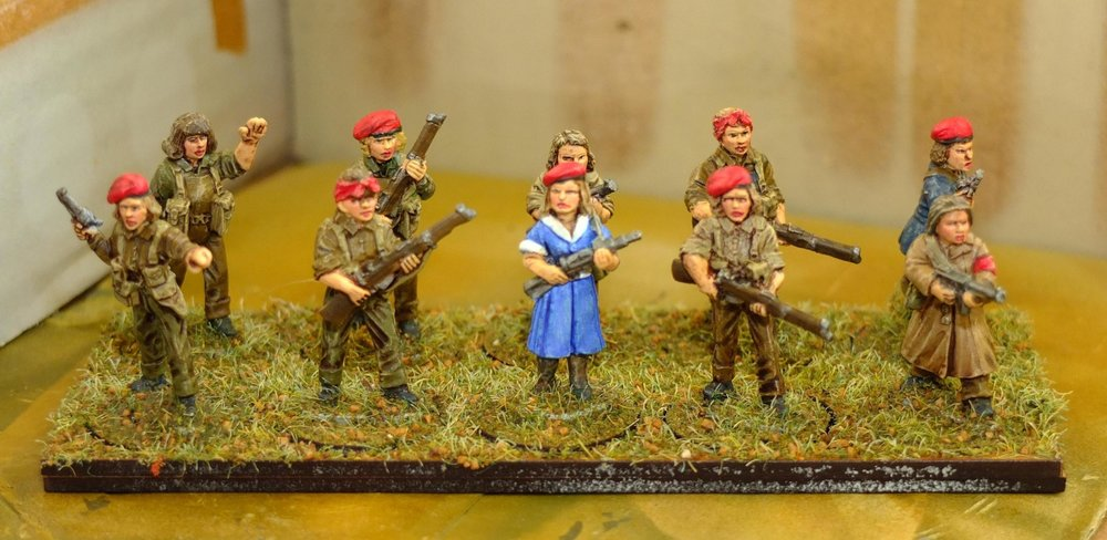 And, in contrast, Carole's female militia