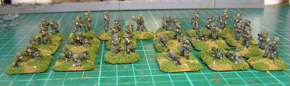 Modern West German infantry from Egg