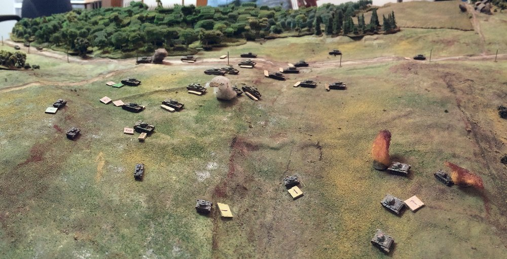 Panzer IIs Around the Flank