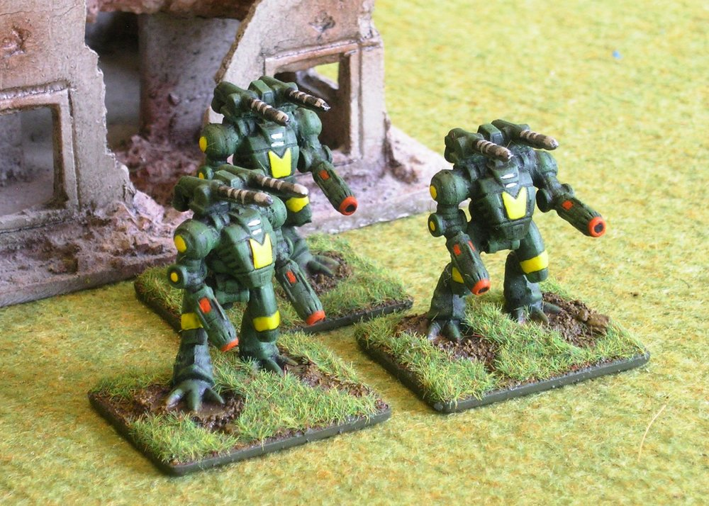 Hunter Ayame Assault Battlesuits