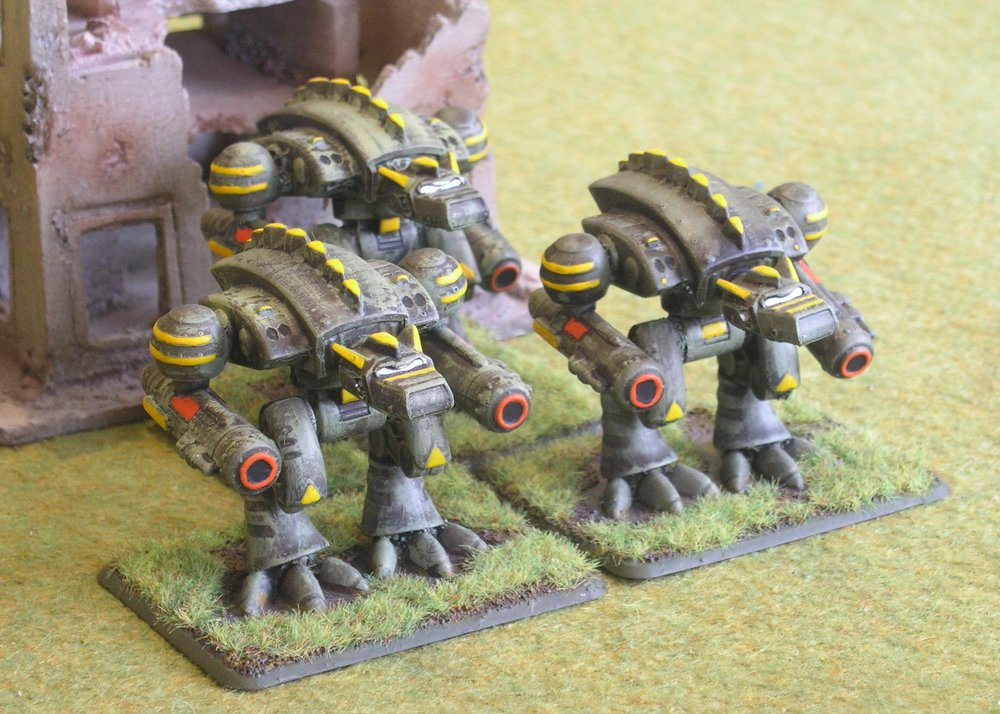 Hunter Marrock Battlesuits