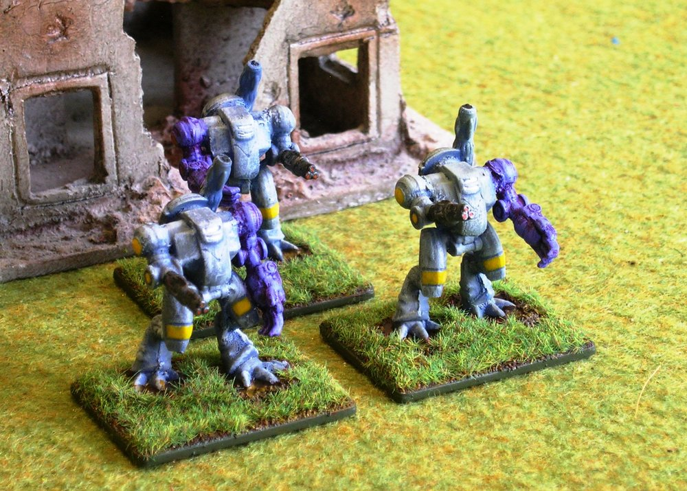 Predator Ayame Mortar Assault Battlesuits