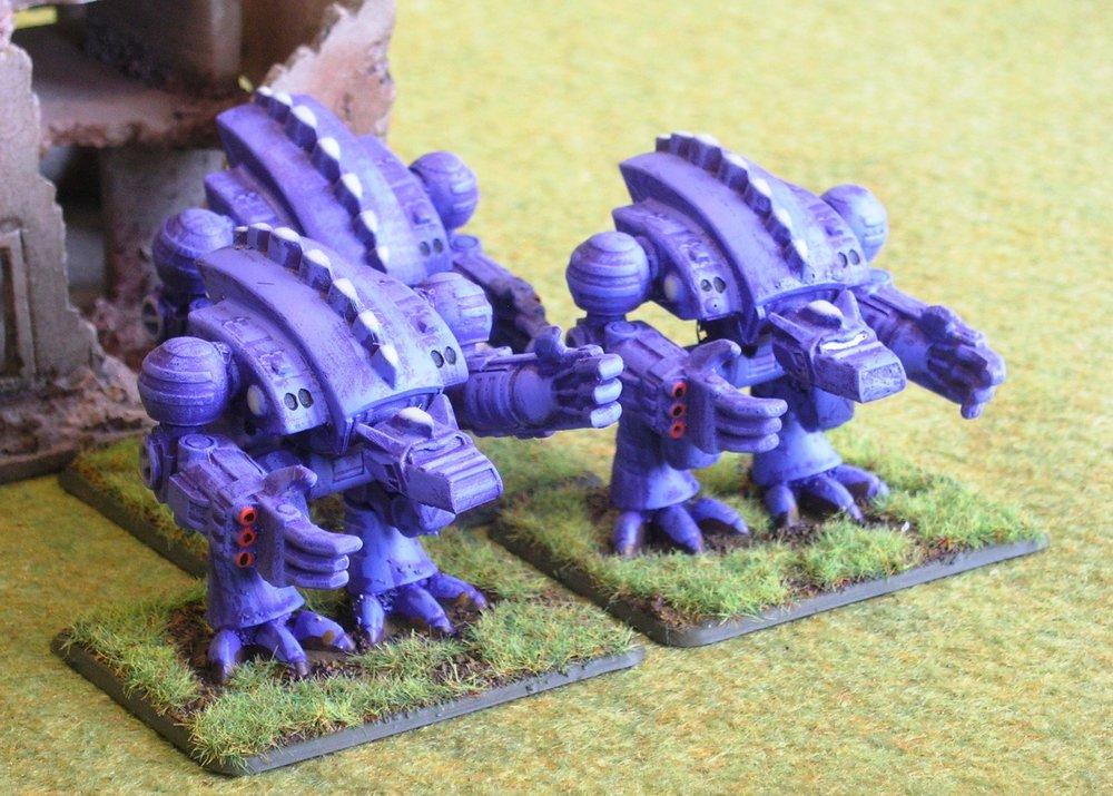 Predator Marrock Battlesuits