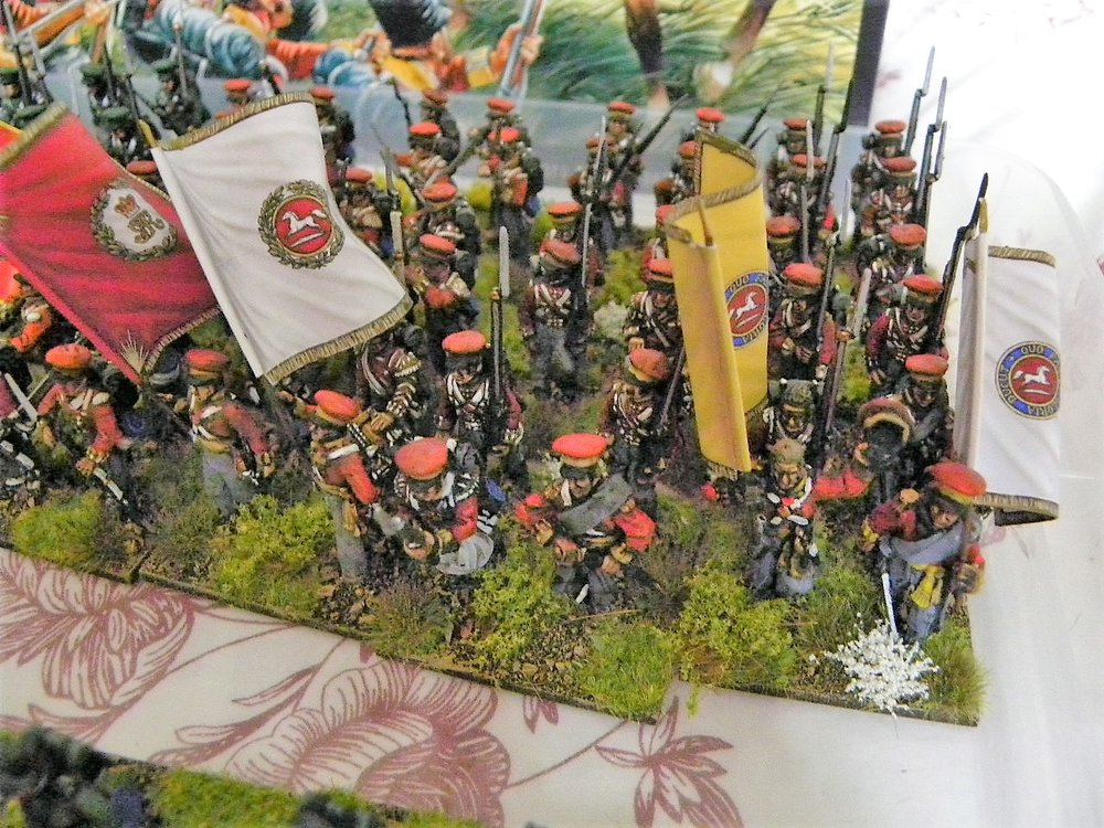 some of stumpy's re-based hanoverians