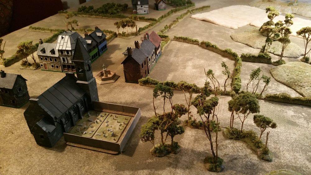 Peaceful Village awaits destruction