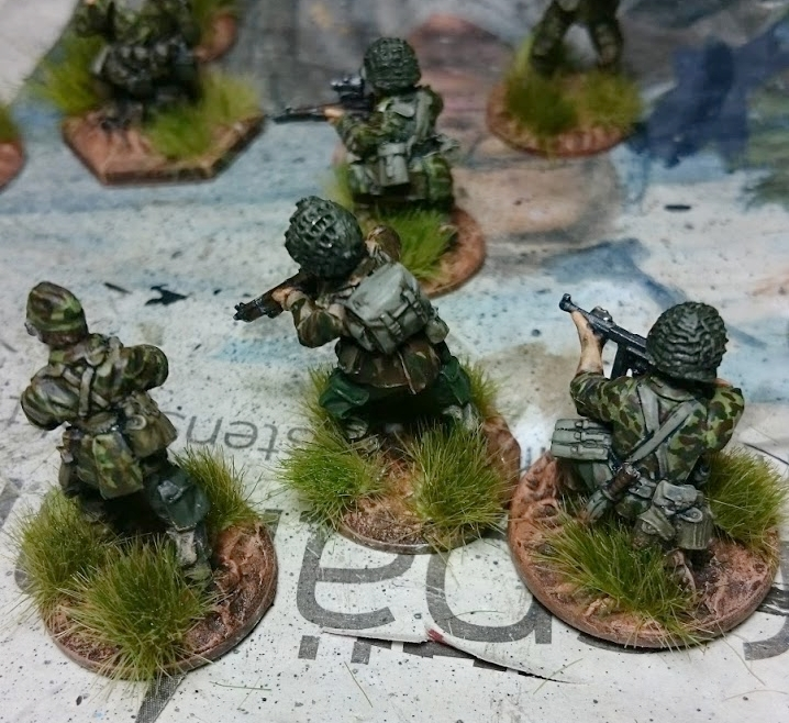 A close up of some of Koen's Paras